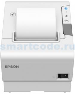 фото Термопринтер чеков Epson TM-T88VI USB, RS232, Ethernet, Buzzer, светлый, фото 1